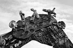 Маорийский строб входа на квадрате Aotea в Окленде - Новой Зеландии Стоковая Фотография RF
