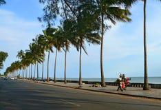 Мапуту, Мозамбик - 12-ое декабря 2008: в столице Mozamb Стоковые Фотографии RF