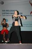 Марафон латиноамериканца Стоковая Фотография RF