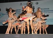 Марафон латиноамериканца Стоковое Изображение RF