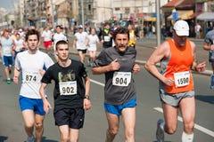 марафон конкурентов belgrade Стоковое фото RF