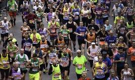 2015, марафон Лондона Стоковое Изображение