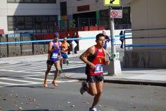 Марафон 2014 Нью-Йорка 113 Стоковые Изображения RF