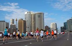 марафон Сидней стоковое изображение