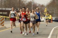 марафон 2009 boston Стоковые Фотографии RF