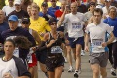 марафон 2009 boston Стоковые Изображения