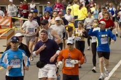 марафон 2009 boston Стоковое Изображение RF