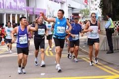 марафон 2009 Hong Kong Стоковое фото RF
