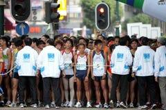 марафон 2010 Hong Kong Стоковое фото RF