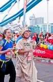 марафон 2010 london Стоковые Фотографии RF