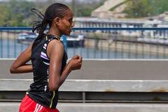 марафон 2011 24th belgrade Стоковые Фотографии RF