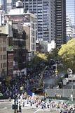 марафон 2011 manhattan города New York Стоковое Изображение RF