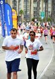 марафон 25th пляжа 2009 длинний стоковые изображения rf