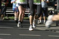 марафон Стоковое Изображение