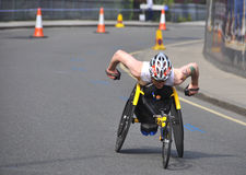 марафон london 2011 disables Стоковая Фотография RF