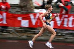 марафон london стоковое изображение