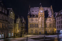 Марбург Townhall стоковая фотография rf