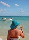 маргарита повелительницы пляжа Стоковые Фотографии RF