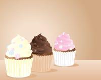 маргаритка чашки тортов Стоковые Изображения RF