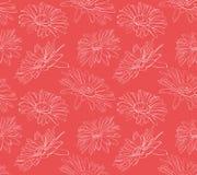 Маргаритки цветков в графиках иллюстрация вектора