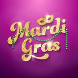 Марди Гра, влияние яркого блеска Стоковая Фотография RF