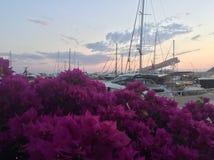 Марина в Bodrum Стоковые Изображения
