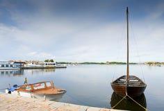 Марина в Karlskrona стоковые фотографии rf