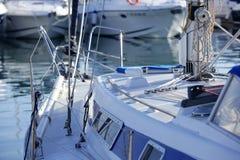 Марина деталей шлюпок среднеземноморская Стоковые Изображения