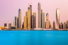 Марина Дубай. стоковые изображения rf
