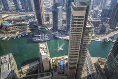 Марина Дубай стоковая фотография rf