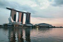 Марина залива зашкурит singapore Стоковые Фото