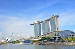 Марина залива зашкурит singapore Стоковые Изображения RF