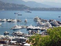 Марина, Монако стоковые изображения