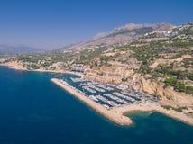 Марина Средиземного моря стоковое изображение rf
