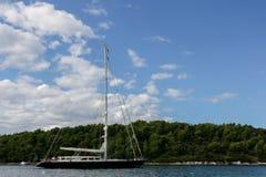Марина яхты Cavtat - Хорватия Стоковое Изображение