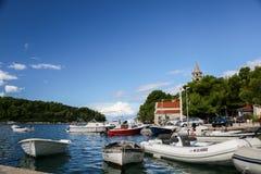 Марина яхты Cavtat - Хорватия Стоковая Фотография