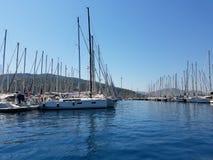 Марина яхты Marmaris стоковые изображения rf