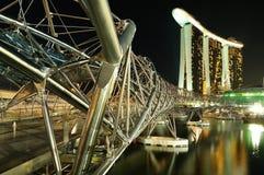 Марина helix моста залива Стоковое фото RF