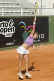 Марина Melnikova в Oporto открытом Стоковая Фотография RF
