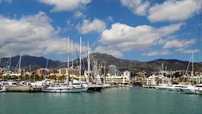 Марина Puerto, Benalmadena-Андалуси-Испания стоковые изображения