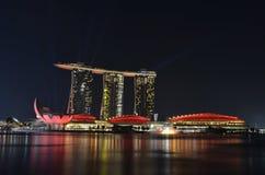 Марина singapore залива стоковые изображения