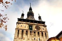 Марионетка башни с часами Стоковое Изображение