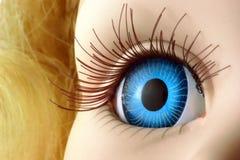марионетка глаза Стоковая Фотография