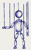 Марионетка иллюстрации деревянная бесплатная иллюстрация