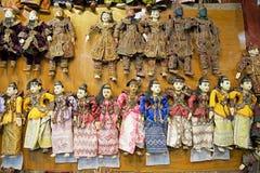 Марионетка Мьянма Стоковое Изображение