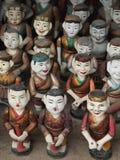 Марионетки воды Вьетнама стоковое изображение rf