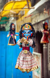 Марионетки на рынке Непала Стоковое Фото