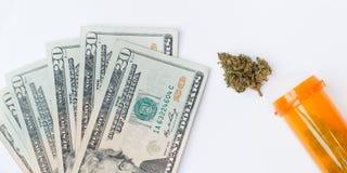 марихуана медицинская Стоковое фото RF
