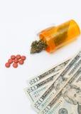 марихуана медицинская Стоковые Изображения RF