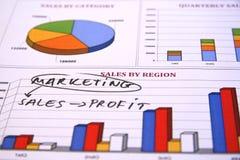 маркетинговая стратегия Стоковые Изображения RF